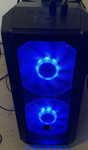 NEW Custom Gaming Desktop Ryzen 7 3.7ghz 16gb ram 512gb ssd 1080 GTX RGB Case streaming & editing TARKOV APEX LEGENDS CS for Sale in Doral, FL