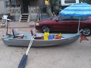 12 FOOT ALUMINUM BOAT ~~~¤¤ for Sale in Tucson, AZ