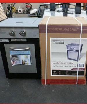 NIB - Charmglow 2 burner gas grill and fridge for Sale in Boynton Beach, FL