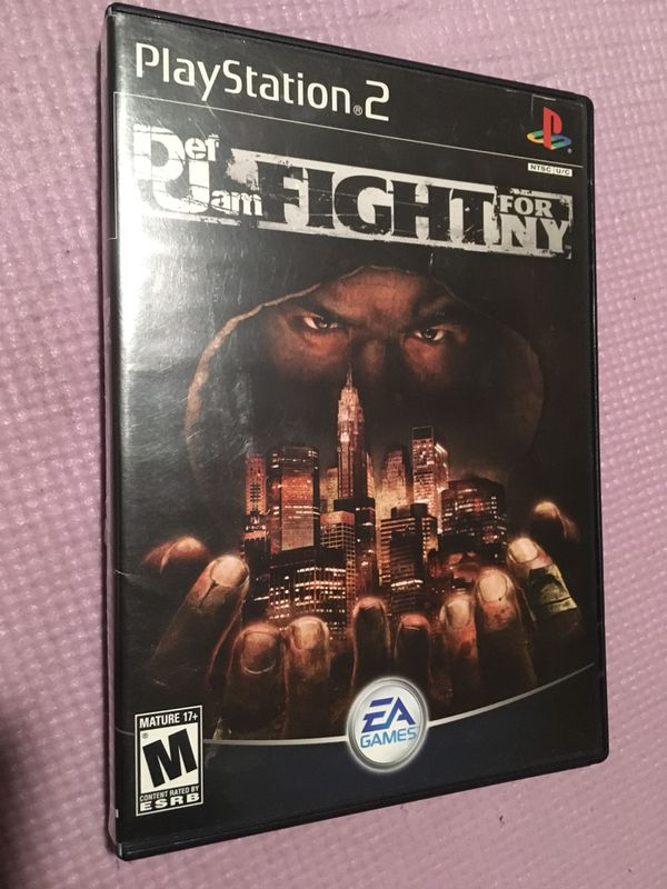 Def Jam fight for NY ps2 original box only no game