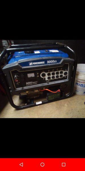 Powerhorse 9000 watt generator for Sale in St. Louis, MO