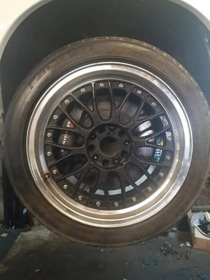 18 inch bbs wheels and tires for Sale in Severn, MD