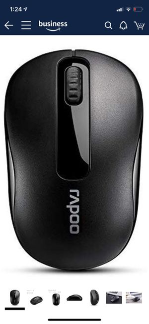 Wireless Mobile Mouse, RAPOO 2.4G Wireless Lightweight Portable Mouse, USB Receiver, 1000 DPI, Long Range and Battery Life, Suitable for Laptop, Note for Sale in Katy, TX