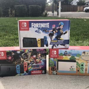 Nintendo Switch Console Mario Kart for Sale in San Marino, CA