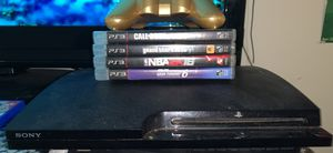 PS3 LIKE NEW! WITH GAMES! for Sale in Manassas, VA