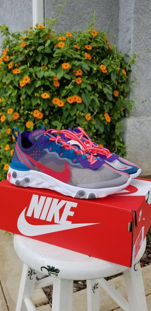 Brand new Authentic Nike react element 87 for Sale in Clovis, CA