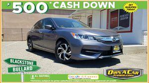 2016 Honda Accord Sedan for Sale in Fresno , CA