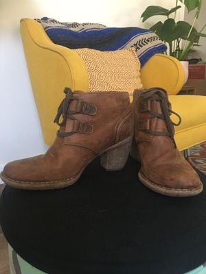 Clark's women's leather booties for Sale in San Diego, CA
