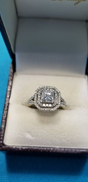 Princess cut 1 carrat diamond engagement ring. for Sale in Kirkland, WA