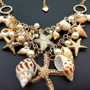 Jewelry ocean starfish seashell set. Earings. Necklace. Bracelets.ring for Sale in Corona, CA