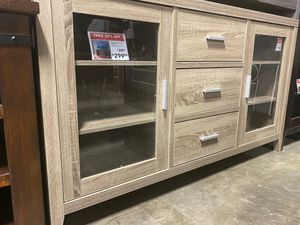 Emily TV Stand for TVs up to 70 inch, Dark Taupe for Sale in Pico Rivera, CA