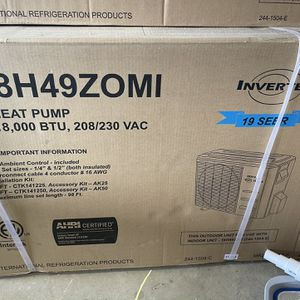 Ac Unit/ Heat pump for Sale in Wildomar, CA