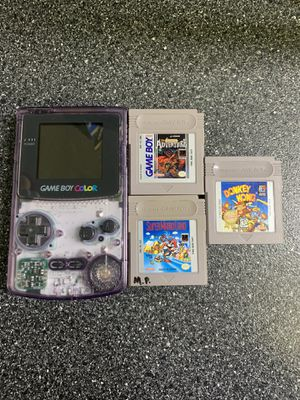 Nintendo Gameboy Color With 3 Games for Sale in Lakewood, OH