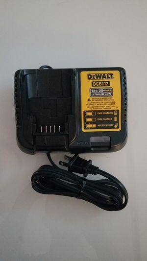 New Dewalt 12-Volt to 20-Volt Lithium-Ion Battery Charger for Sale in Hemet, CA