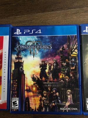 Kingdom hearts 3 Ps4 for Sale in Austin, TX
