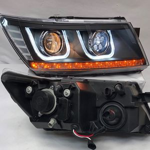 09-17 Dodge Journey Clear Black Pair Of Head Lights (leds)27x16x24 for Sale in Los Angeles, CA
