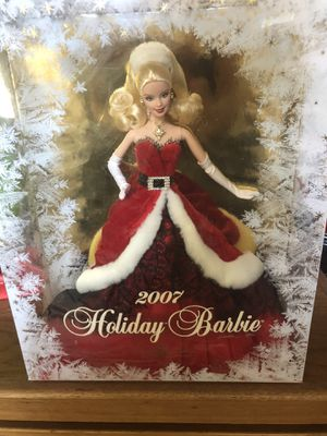 2007 Holiday Barbie NEVER BEEN OUT OF BOX for Sale in Roseville, CA