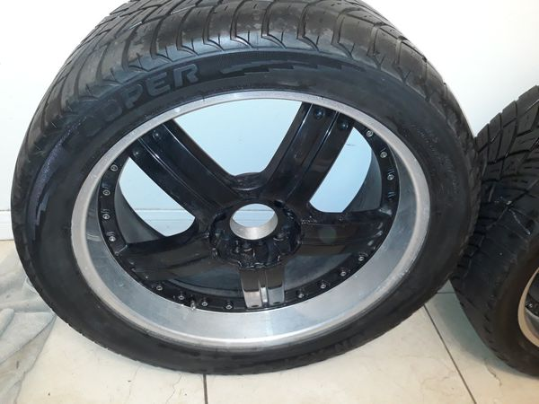 4 Silverado tires /305/40/22