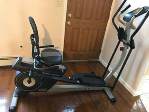 Hibrid Trainer bicycle and elliptical Brand New for Sale in Queens, NY