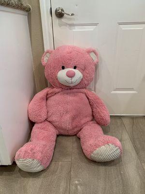 Big pink teddy bear 🧸 for Sale in Houston, TX