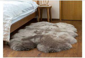 Real Sheep skin Rug, Gray - Brand New for Sale in Etiwanda, CA
