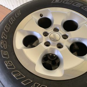 Jeep wheels for Sale in Atwater, CA