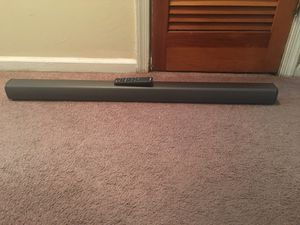 Sound bar with remote for Sale in Roanoke, VA
