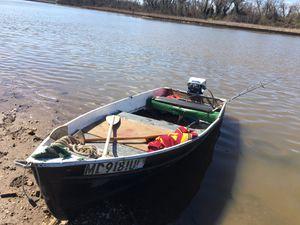 12ft Jon boat for trade for Sale in Hyattsville, MD