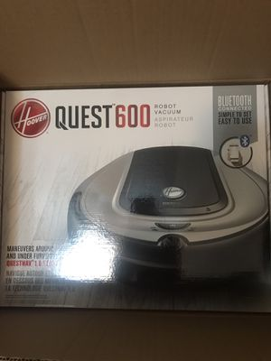 Brand new in box Hoover Quest 600 robotic vacuum cleaner for Sale in Tampa, FL