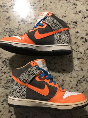 Orange and Blue Nike's Size 9 in Women's for Sale in Austin, TX