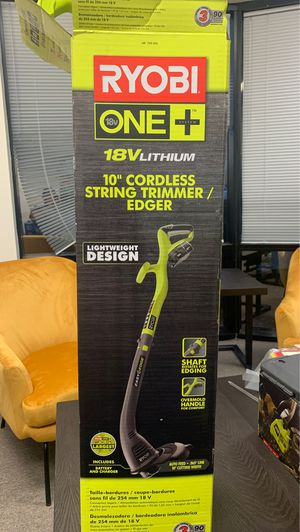 Ryobi Cordless Trimmer W Battery/Charger for Sale in San Marcos, CA