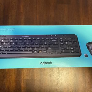 Logitech Keyboard & Mouse Combo for Sale in Reading, PA