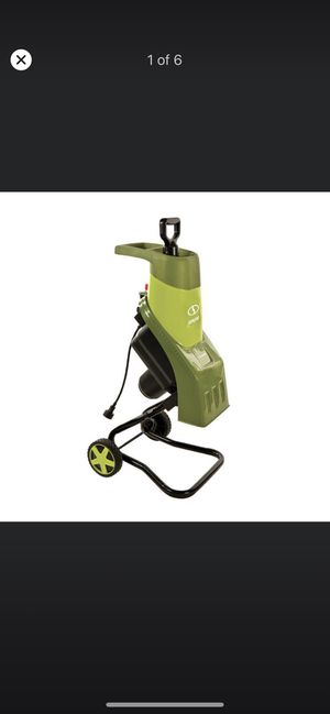 Sun Joe 1.5 in. 14 Amp Electric Wood Chipper/Shredder Brand New !!!! for Sale in Modesto, CA