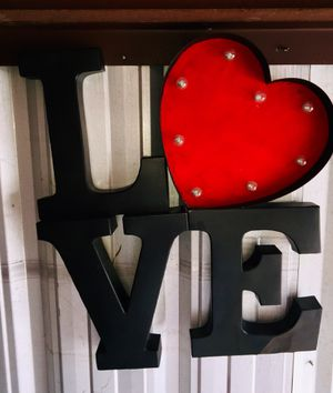 Love sign for Sale in Longview, TX
