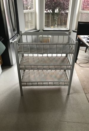 Baby changing table for Sale in Puyallup, WA