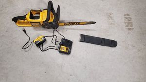 DeWalt 20v 16 inch chainsaw for Sale in Pearland, TX
