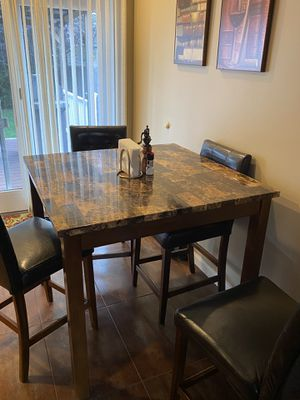Breakfast room table - pub height for Sale in Plainview, NY