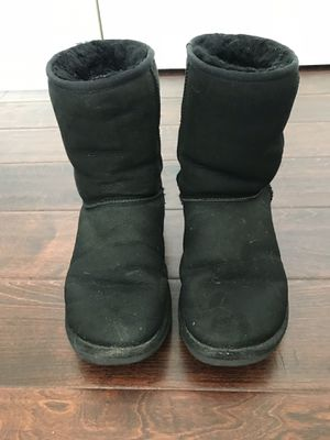 Ugg Black Classic Boots (Size 8) for Sale in Austin, TX