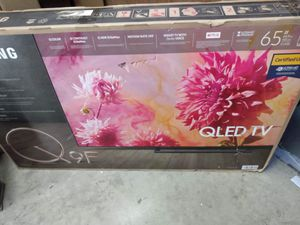 """65"""" Samsung Qled Q9F 4K UHD hdr full array no burn in guaranteed smart TVs 2018 for Sale in Downey, CA"""