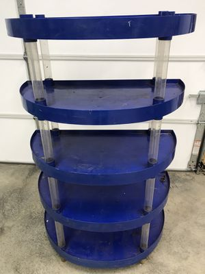 """5 Shelf Storage Rack 53 1/2"""" H x 34"""" W x 18"""" D You Must Pickup for Sale in New Ringgold, PA"""