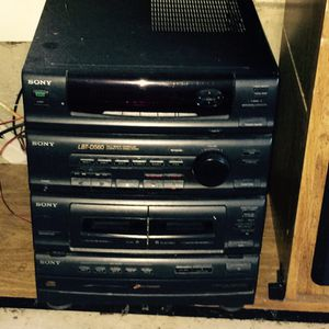 Sony cd radio and cassette player for Sale in Everett, WA