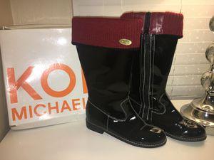 Michael Kors Black Boots Size 3 for Sale in San Bernardino, CA