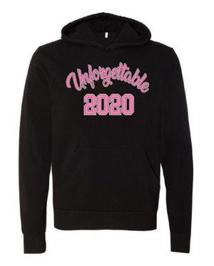 Black Hoodie screen printed, Unforgettable 2020 for Sale in Houston, TX