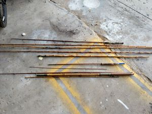 Old bamboo fishing rods for Sale in Chicago, IL