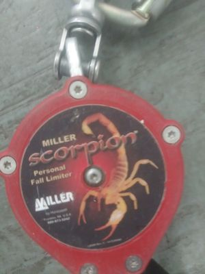 Scorpion fall limiter for Sale in Seaside, CA