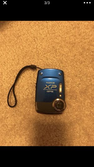 fujifilm FinePix XP30 14MP GPS 5x WIDE opticalZOOM lens Camera Blue for Sale in New York, NY