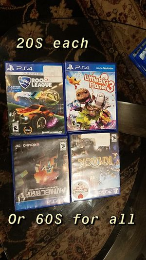 Ps4 games for Sale in Mount Vernon, WA