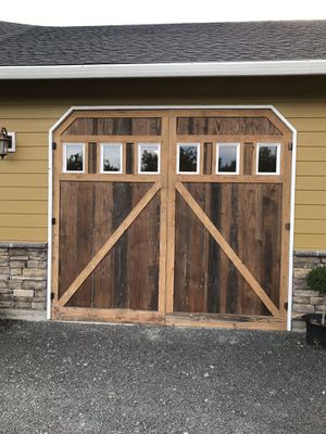 Home made barn doors (2) 5'W 9'T. Make Offer for Sale in Battle Ground, WA