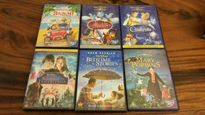 6 Disney DVDs for Sale in Clermont, FL