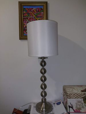 Nice metal like new lamp for Sale in Alhambra, CA